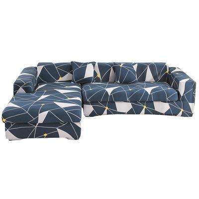 2020跨境外贸专供印花沙发套全包沙发套罩网红沙发套沙发垫套 单人90-140cm 未来密码
