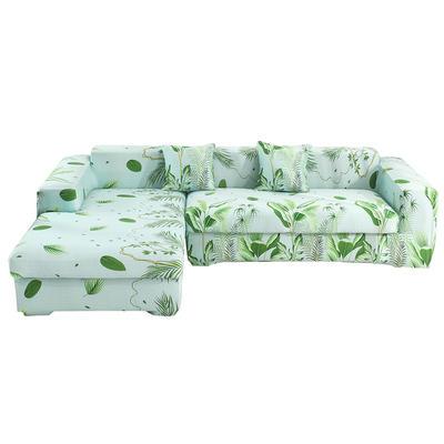 2020跨境外贸专供印花沙发套全包沙发套罩网红沙发套沙发垫套 单人90-140cm 夏威夷之旅