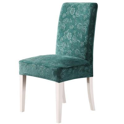 2020款韩国水晶绒加厚椅套弹力 跨境外贸专供 墨绿-水晶绒