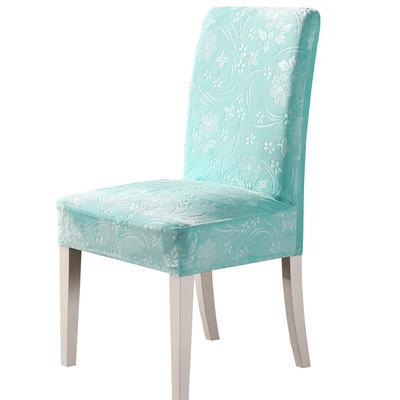 2020款韩国水晶绒加厚椅套弹力 跨境外贸专供 浅蓝-水晶绒