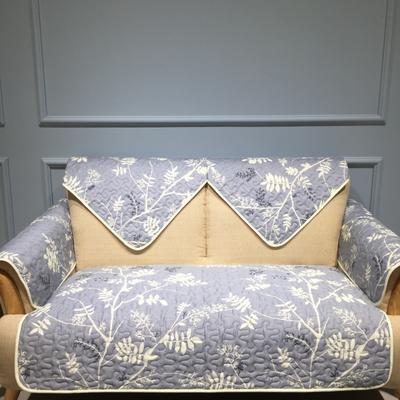 花卉全棉沙发垫 70*70cm 枝叶曼舞