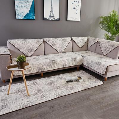 简约系列全棉沙发垫 70*70cm 慢未来(米)