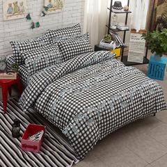 卡斯诺 芦荟棉四件套 1.5m(5英尺)床 斑马诱惑