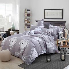 卡斯诺 芦荟棉四件套 2.2m(7英尺)床 喜气羊羊