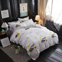 卡斯诺 芦荟棉四件套 1.0m(3.3英尺)床 一如初见