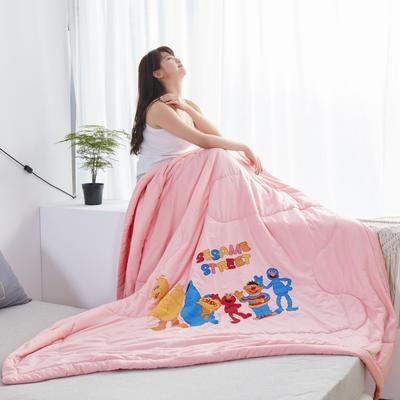 2019新款大版水洗夏被 150x200cm 芝麻街-玉