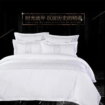 80S全棉贡缎酒店四件套 1.5m(5英尺)床 2