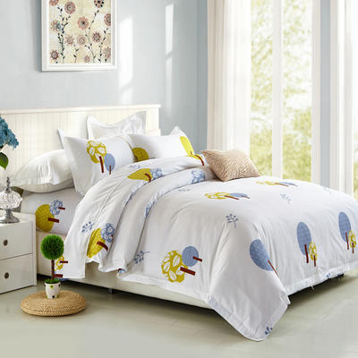 印花系列四件套 1.5m(5英尺)床 盛夏的果实