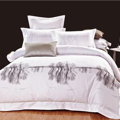 印花系列四件套 1.5m(5英尺)床 身临其境