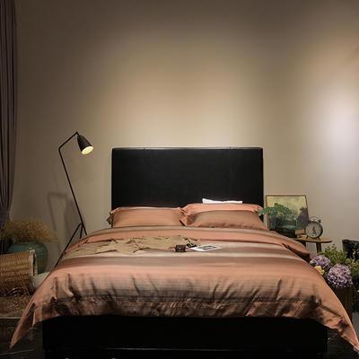 马上云婵丝色织系列四件套(实拍图) 标准1.5-1.8m床 爱尔兰之恋