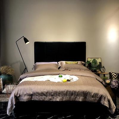 马上云婵丝色织系列四件套(实拍图) 标准1.5-1.8m床 费列罗-凯特金