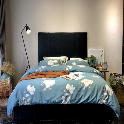 2018新款60长绒棉印花(实拍图) 1.5m-1.8m(床单款) 海蒂-兰