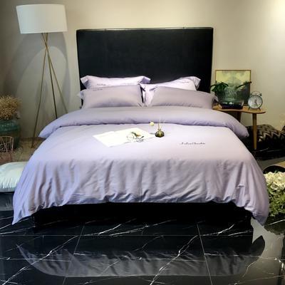 2018巧克力系列实拍图四件套 1.8m(6英尺)床 优雅紫