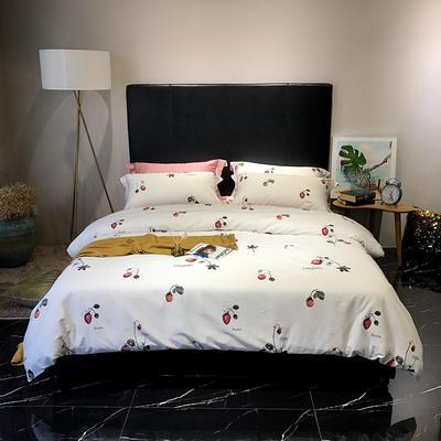 2018新款60长绒棉印花(实拍图) 1.5m-1.8m(床单款) 恋夏