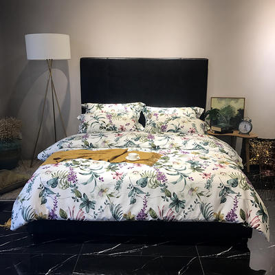 2018新款60长绒棉印花(实拍图) 1.5m-1.8m(床单款) 夏威夷