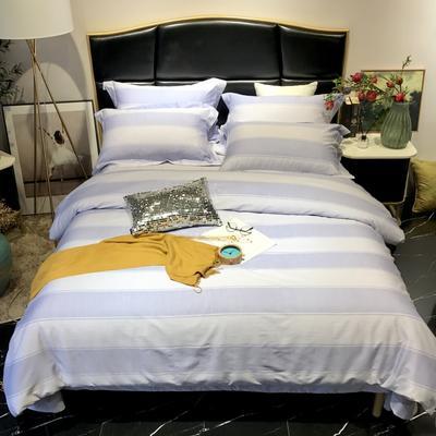 2018新款60长绒棉印花(实拍图) 1.5m-1.8m(床单款) 克里娜-天空蓝