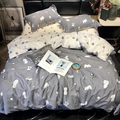2019新款全棉133372祖玛珑系列四件套 1.5m(5英尺)床 精灵