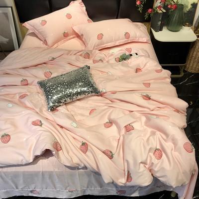 2019新款全棉133372祖玛珑系列四件套 1.5m(5英尺)床 少女梦
