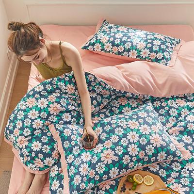 2020新款罗卡棉系列四件套 1.8m床单款四件套 芳华