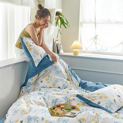 2020新款罗卡棉系列四件套 1.8m床单款四件套 倾妍