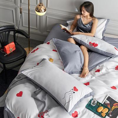 2020新款罗卡棉系列四件套 1.8m床单款四件套 宠爱