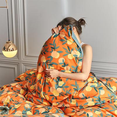 2020新款罗卡棉系列四件套 1.8m床单款四件套 欢乐颂