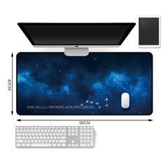 新款电脑桌垫地垫 30*80 40*90cm 云朵家居 30*80cm 绚丽星空