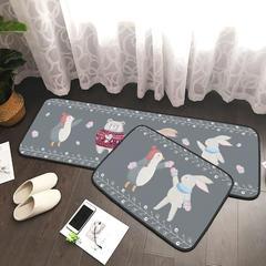 2018年新款长条多功能地垫 地毯50*70 50*145 50*170 50*145 冬季动物