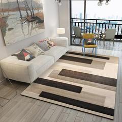 北欧客厅地毯沙发茶几地垫子简约现代卧室床边地垫可爱房间家用 80*160cm ZZR-28