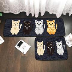2018年新款长条多功能地垫 地毯50*70 50*145 50*170 50*145 绅士猫