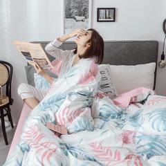 2018新款13372全棉梦幻系列四件套 1.2m(床单款三件套) 怡人 粉