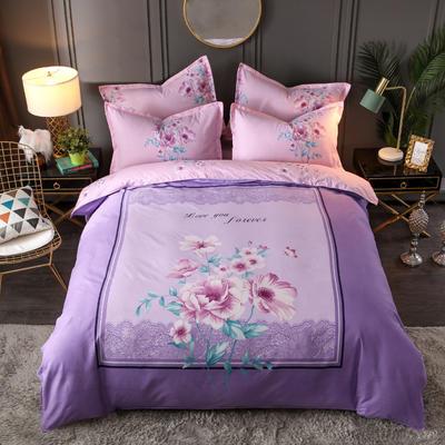 2020新花色大版植物羊绒四件套总汇 1.5m床单款四件套 伊娜莎