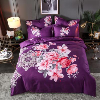 2020新花色大版植物羊绒四件套总汇 1.5m床单款四件套 繁花似锦