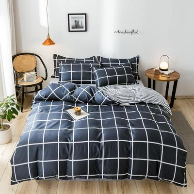 2020新款芦荟棉四件套新花色 1.0m床单款三件套 罗马空间