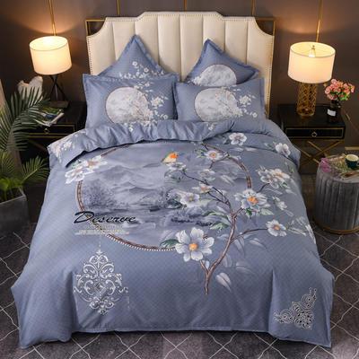 2020新花色大版植物羊绒四件套总汇 1.5m床单款四件套 如梦令