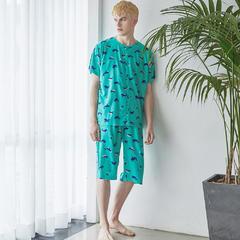 18韩国OR夏款(18OR046成人男款) XXL(210斤以内) 绿色