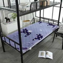 8CM单人床磨毛款床垫 1.0*2.0m 飞马奔腾