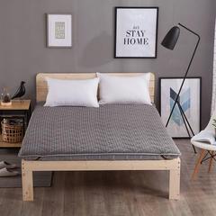 4D加厚10CM厚单边床垫 1.5*2.0m 4D灰色加厚