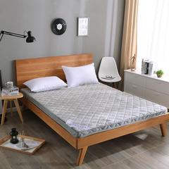 法兰绒6CM厚纯色系列立体床垫 0.9*2.0m 灰色