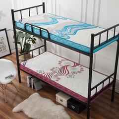 记忆棉单人床垫(潮流风) 1.2 * 1.9m 活力四色10cm