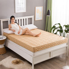 简约风 记忆棉床垫 1.5 * 2.0m 驼色10cm
