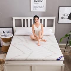 宜家风记忆棉床垫 1.2 * 1.9m 几何生活6.5cm