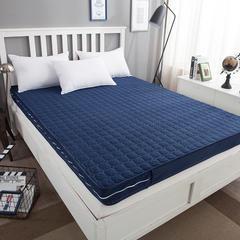 简约风 拆洗记忆棉床垫 1.8*2.0m*9cm 深海蓝