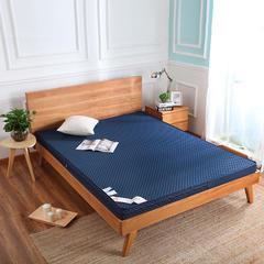 韩国米立方 记忆棉床垫 1.5*2.0m*6.5cm 深海蓝