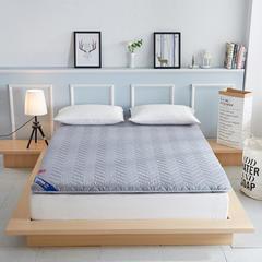 3色:磨毛透气三明治6-7厘米厚床垫 0.9 灰色