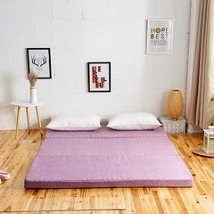6色:可折叠高密度海绵床垫(8公分) 1.8x2m 紫罗兰