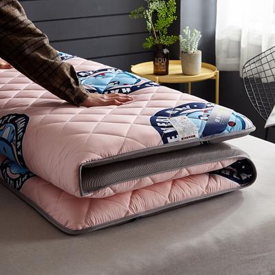 水洗棉防水透气床垫5厘米加厚款 0.9*1.9 猫-玉