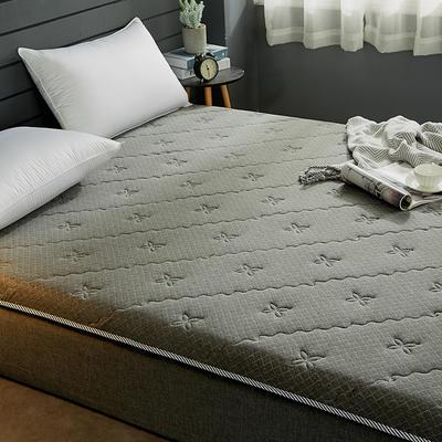 2019新品針織透氣10厘米加厚床墊特種花型 0.9*2 特種灰