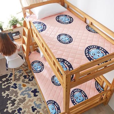 2019新款單人床墊水洗棉溢水透氣加厚5厘米床墊 90*200 貓玉