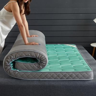 2019新款3D針織乳膠記憶棉床墊 90*200 水綠(5cm)